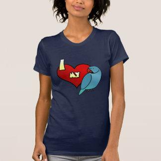 I Love my Indian Ringneck Parakeet Ladies TShirt