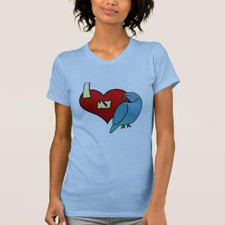 I Love my Indian Ringneck Parakeet TShirt