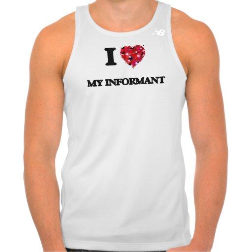 I Love My Informant New Balance Running Tank Top Tank Tops, Tanktops Shirts