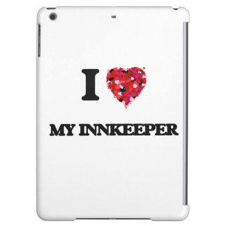I Love My Innkeeper iPad Air Covers