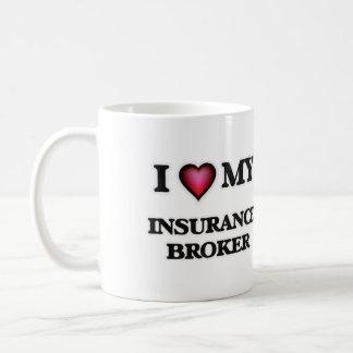 I love my Insurance Broker Coffee Mug