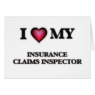 I love my Insurance Claims Inspector Card