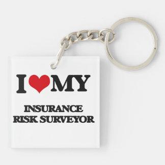 I love my Insurance Risk Surveyor Acrylic Keychain