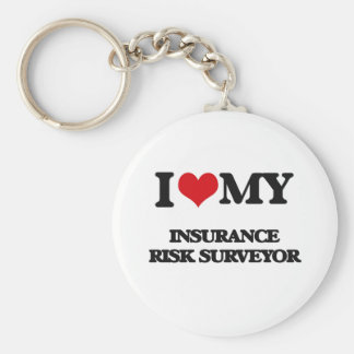 I love my Insurance Risk Surveyor Key Chain