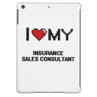 I love my Insurance Sales Consultant iPad Air Covers