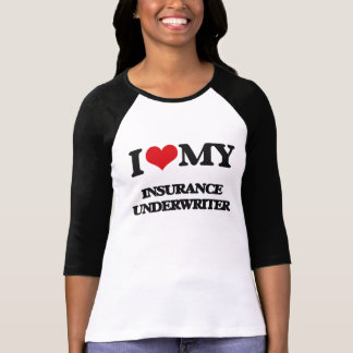 I love my Insurance Underwriter Tshirt