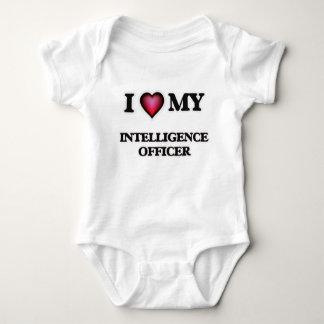I love my Intelligence Officer Baby Bodysuit