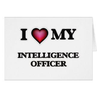 I love my Intelligence Officer Card