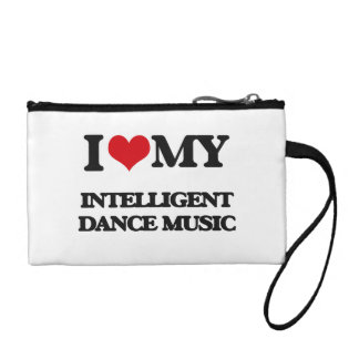 I Love My INTELLIGENT DANCE MUSIC Coin Wallets