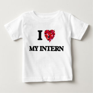 I Love My Intern T-shirt