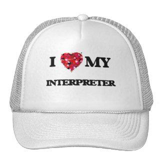 I love my Interpreter Trucker Hat