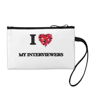 I Love My Interviewers Change Purse