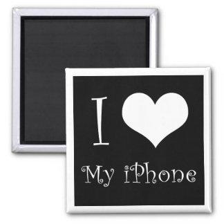 I Love my iphone Magnet
