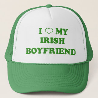 I Love My Irish Boyfriend Hat