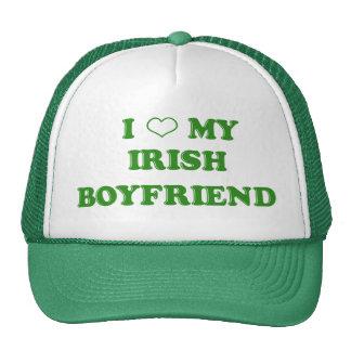 I Love My Irish Boyfriend Hat