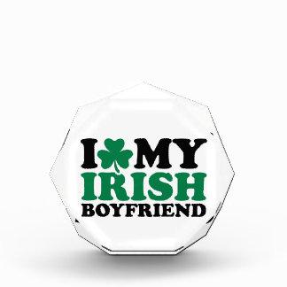 I love my irish boyfriend shamrock awards