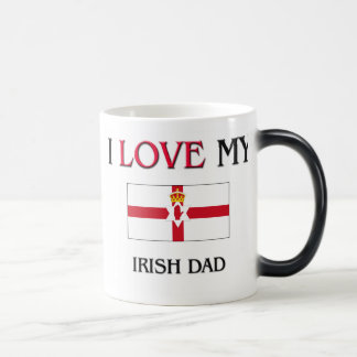 I Love My Irish Dad Coffee Mugs