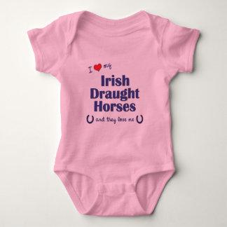 I Love My Irish Draught Horses (Multiple Horses) Shirt