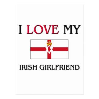 I Love My Irish Girlfriend Postcards