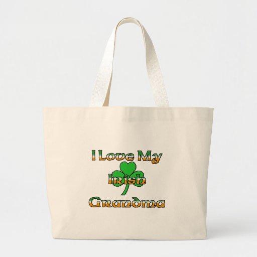 I Love My Irish Grandma Bag
