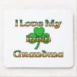 I Love My Irish Grandma Mouse Pad