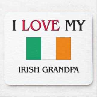 I Love My Irish Grandpa Mouse Pad