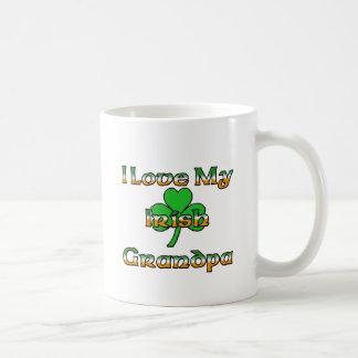 I Love My Irish Grandpa Mug