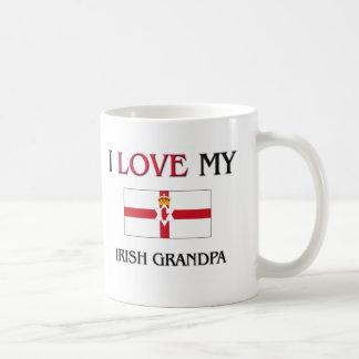 I Love My Irish Grandpa Classic White Coffee Mug