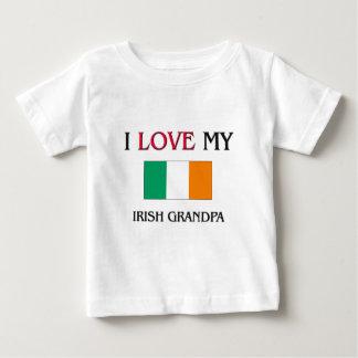 I Love My Irish Grandpa Tee Shirt
