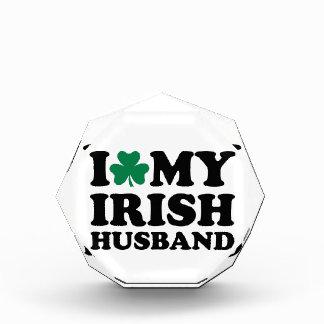 I love my irish husband shamrock awards