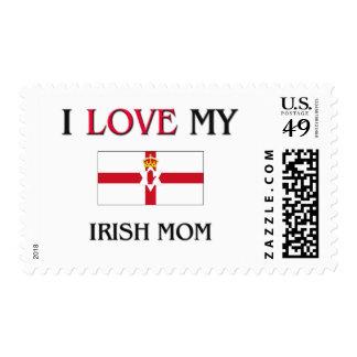 I Love My Irish Mom Stamps
