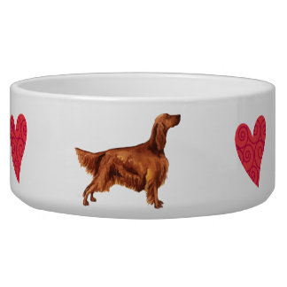 I Love my Irish Setter Bowl