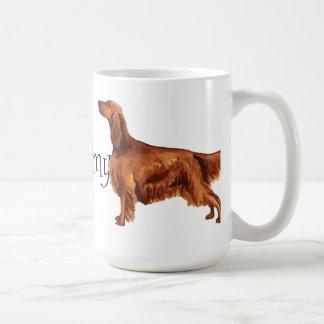 I Love my Irish Setter Coffee Mug