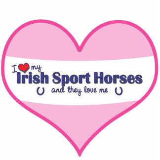 I Love My Irish Sport Horses (Multiple Horses) Cutout