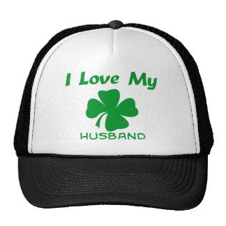 I Love My Irish Trucker Hat