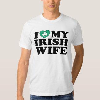 I Love My Irish Wife Shirt