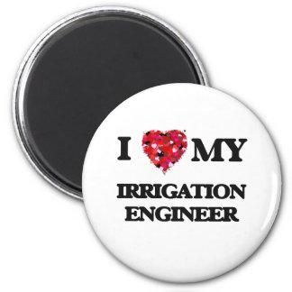 I love my Irrigation Engineer 2 Inch Round Magnet