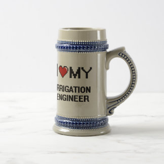 I love my Irrigation Engineer 18 Oz Beer Stein