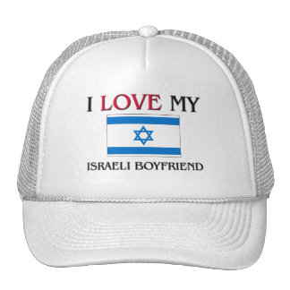 I Love My Israeli Boyfriend Trucker Hat