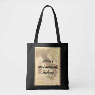 I Love My Italian Ancestors | Custom Tote Bag