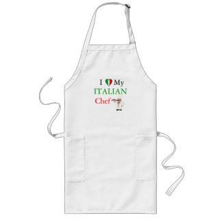 I Love My Italian Chef Aprons