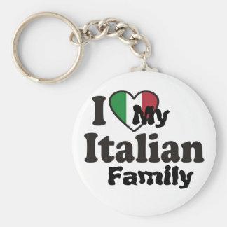 I Love My Italian Family Key Chains