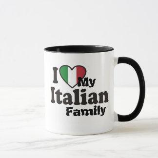 I Love My Italian Family Mug