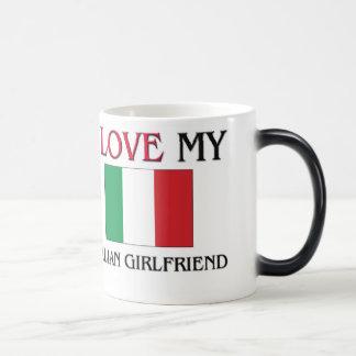 I Love My Italian Girlfriend Mugs