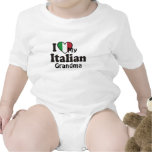 I Love My Italian Grandma Tshirt