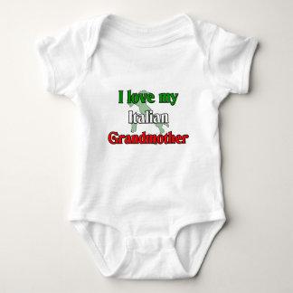 I Love My Italian Grandmother Baby Bodysuit