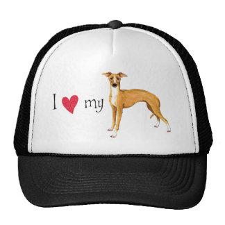I Love my Italian Greyhound Trucker Hat