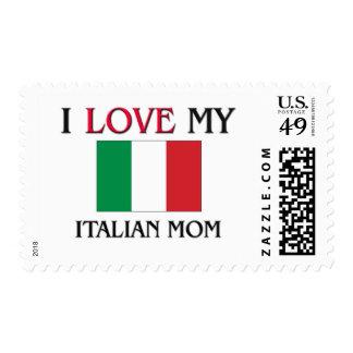 I Love My Italian Mom Stamps