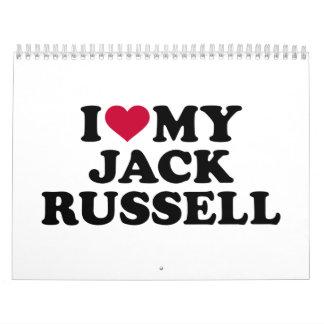 I love my Jack Russell Calendar