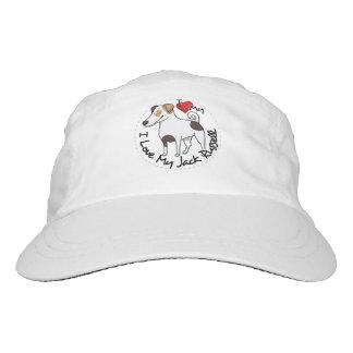 I Love My Jack Russell Dog Headsweats Hat
